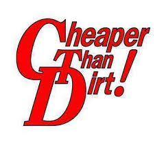 Cheaper Than Dirt coupons and promo codes