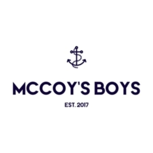 McCoys Boys coupons and promo codes