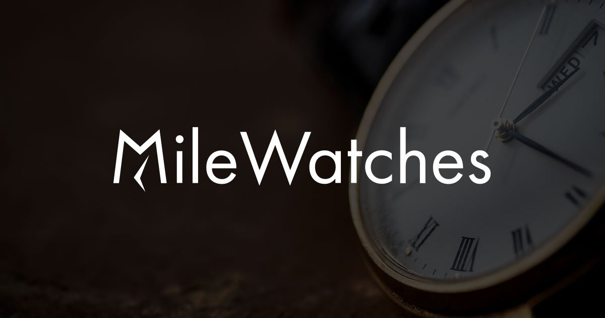 Mile Watches coupons and promo codes